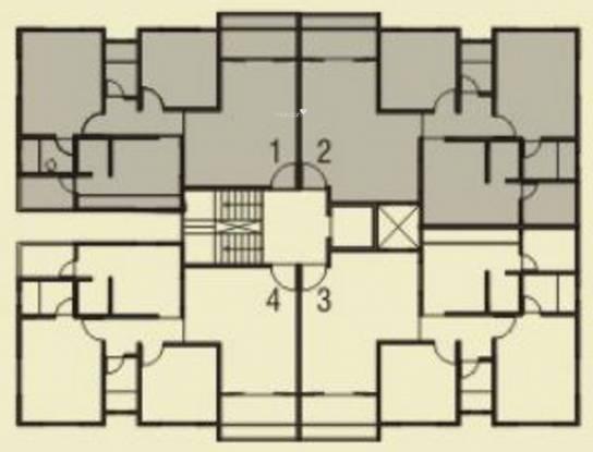 Shaligram Garden Residency I Cluster Plan
