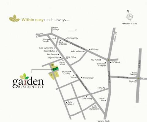Shaligram Garden Residency I Location Plan