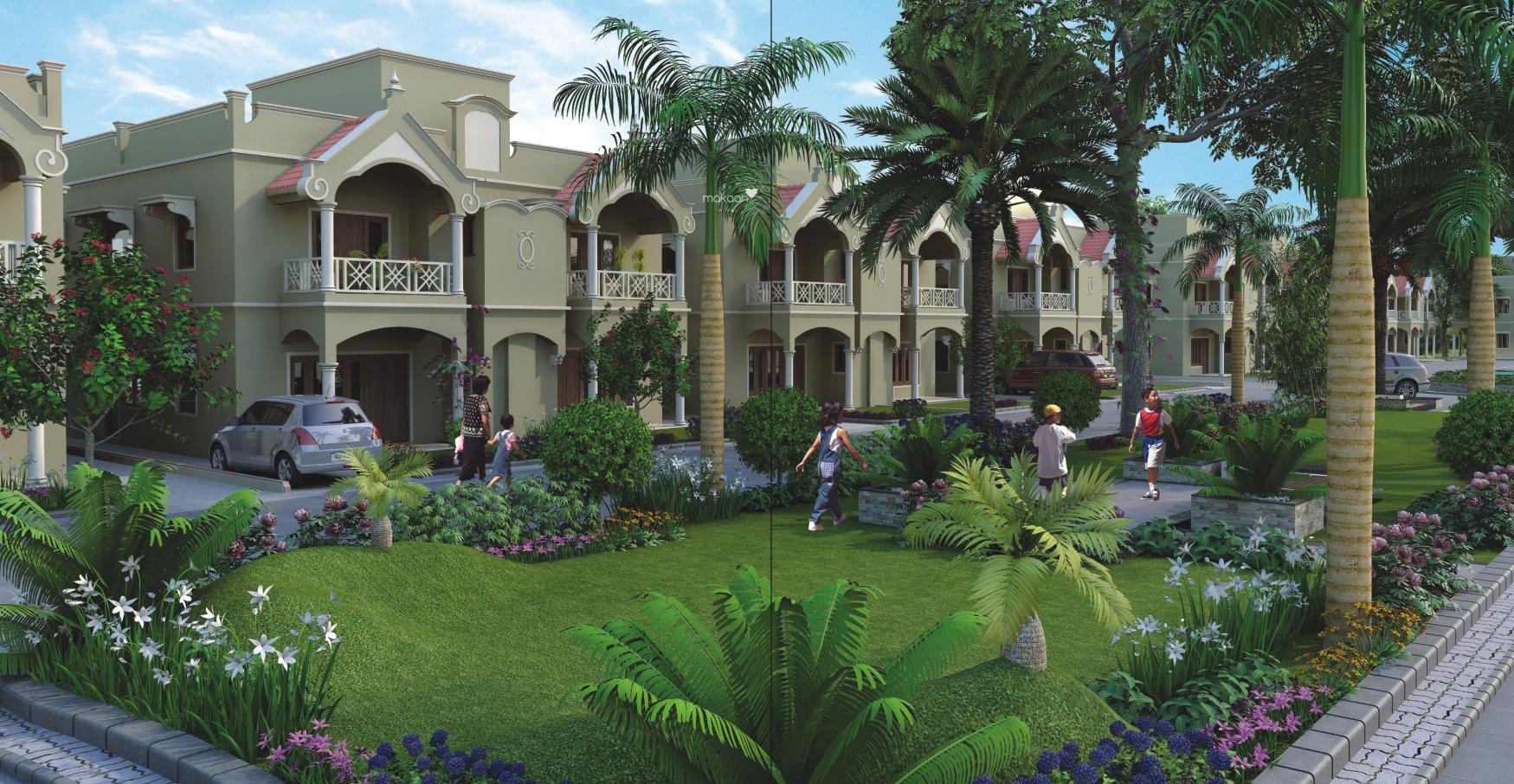 Amazing Shaligram Garden Villa Elevation