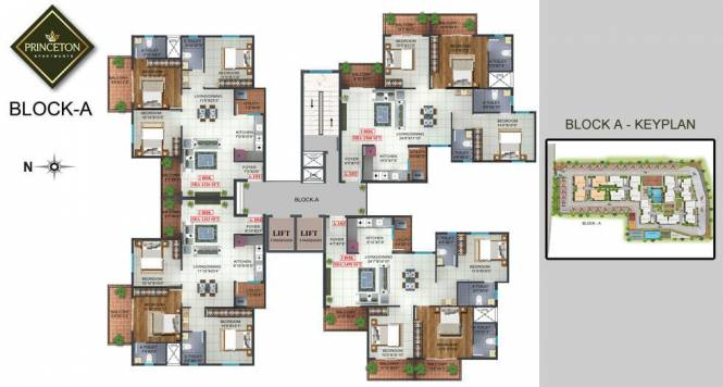 Prospect Princeton Cluster Plan