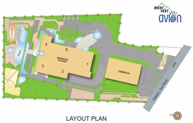 Mont Vert Avion Layout Plan