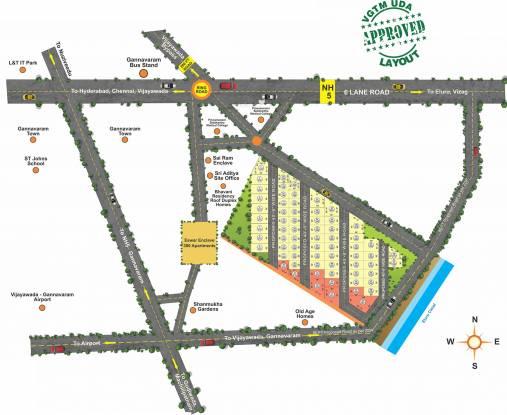 Aditya Siri Paradise Layout Plan
