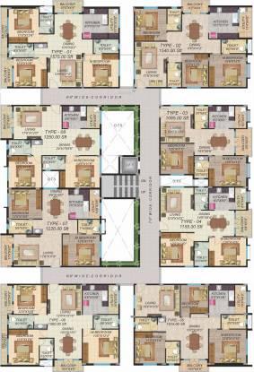 Neev Stone Oaks Cluster Plan
