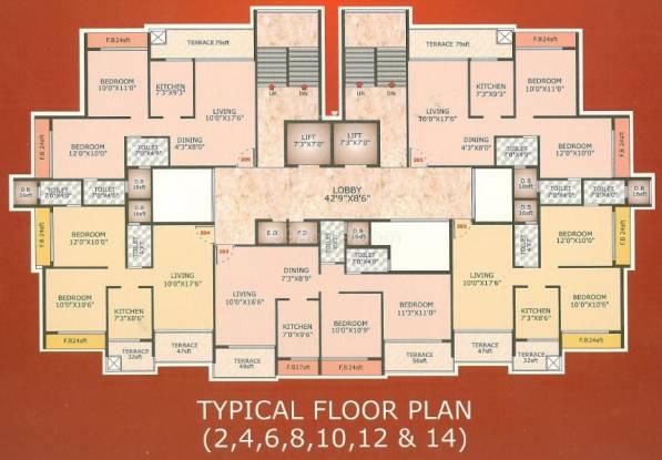 Suncity Avenue Cluster Plan