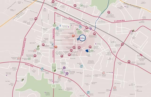 Rite Skyluxe Location Plan