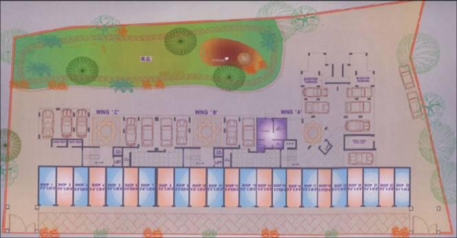 Space Ashley Garden Cluster Plan