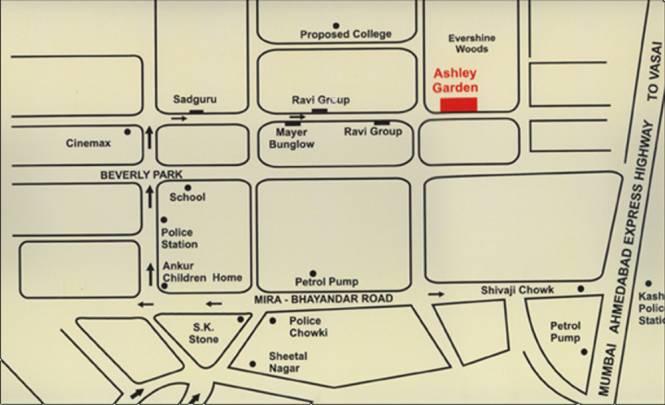 Space Ashley Garden Location Plan