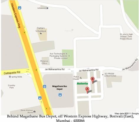 Saaga Asttoria 2 Location Plan
