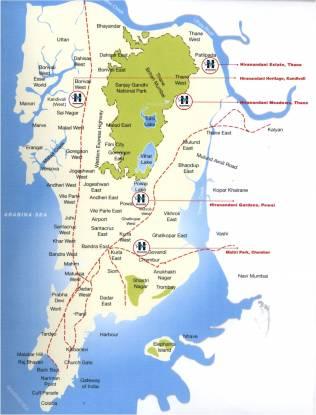Hiranandani Avalon Location Plan