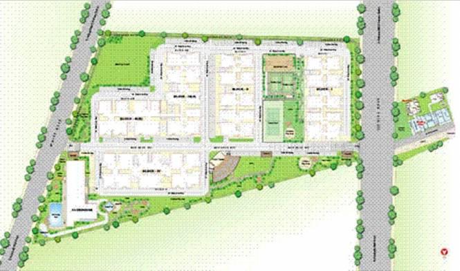 SMR SVR Flora Layout Plan