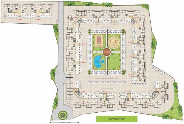Mega Benchmark Complex Layout Plan