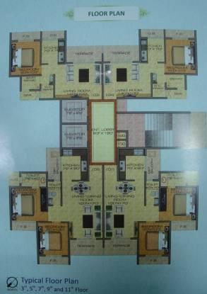 Brij Heights Cluster Plan