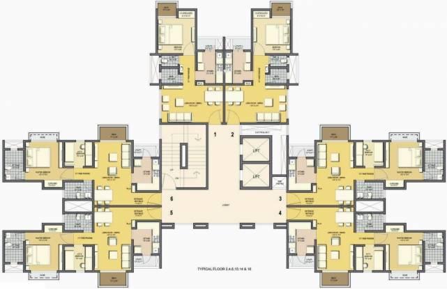 Lodha Casa Essenza Cluster Plan
