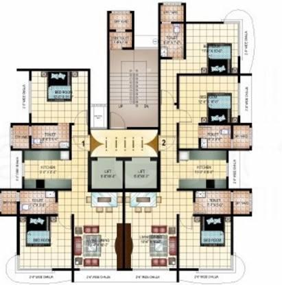 Heritage Castle Cluster Plan