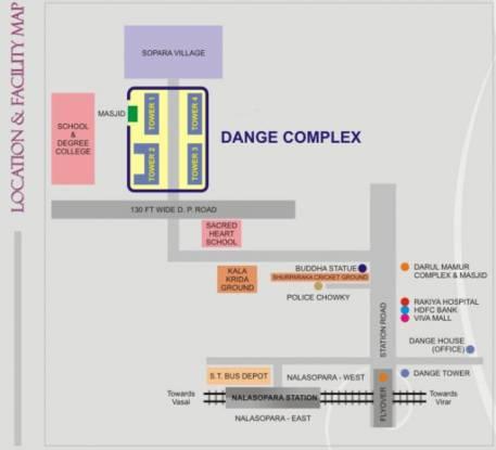 Dange Complex Location Plan