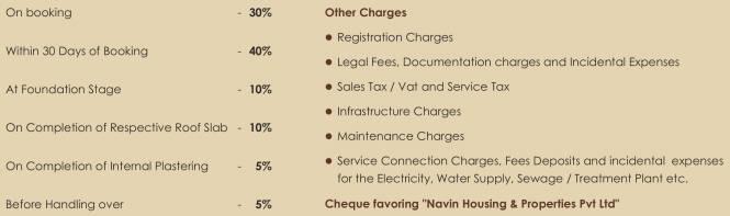 Navin Septem Payment Plan