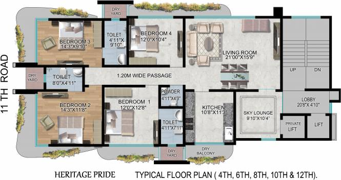 Heritage Pride Cluster Plan