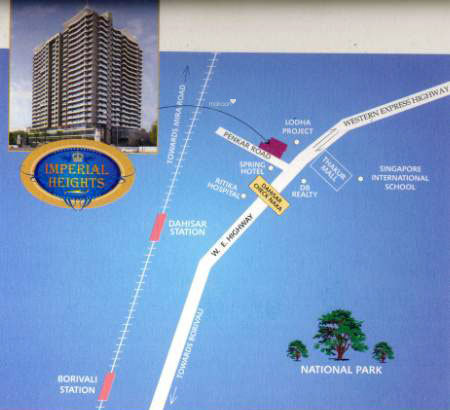 SK Imperial Heights Location Plan
