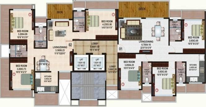 Kamla Habitat Cluster Plan