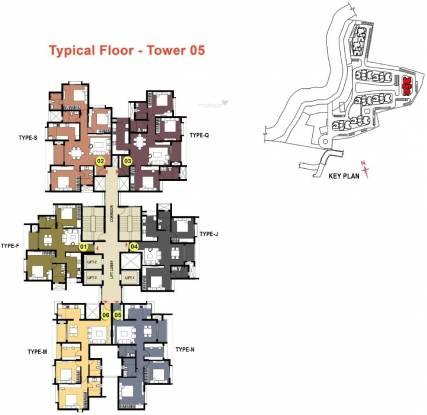 Prestige Bagamane Temple Bells Cluster Plan