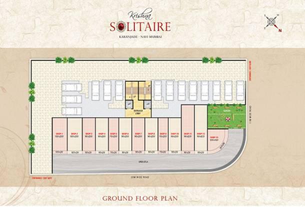 Kuber Krishna Solitaire Cluster Plan