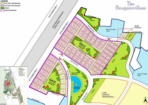 Jaypee Bougainvilleas Layout Plan