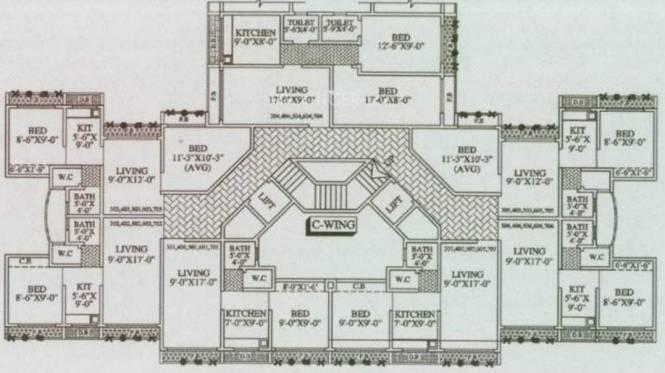 MAAD Nakoda Heights Cluster Plan
