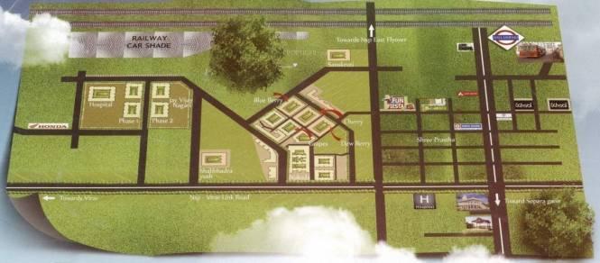 MAAD Nakoda Heights Location Plan