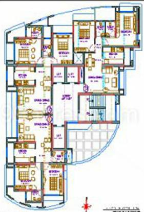 Siddharth Palash Towers Cluster Plan
