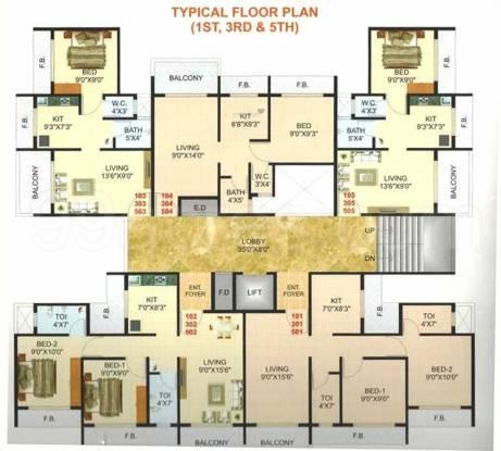 Pramukh Residency Cluster Plan