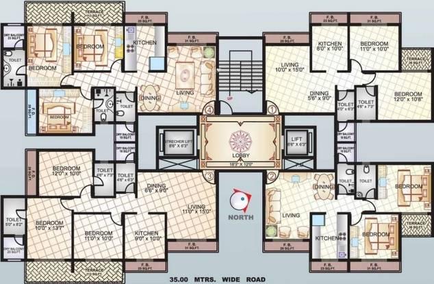 Sai Manomay Cluster Plan
