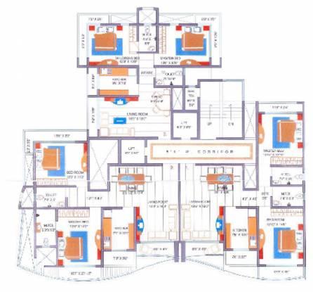 Leo Sarvodaya Apartment Cluster Plan