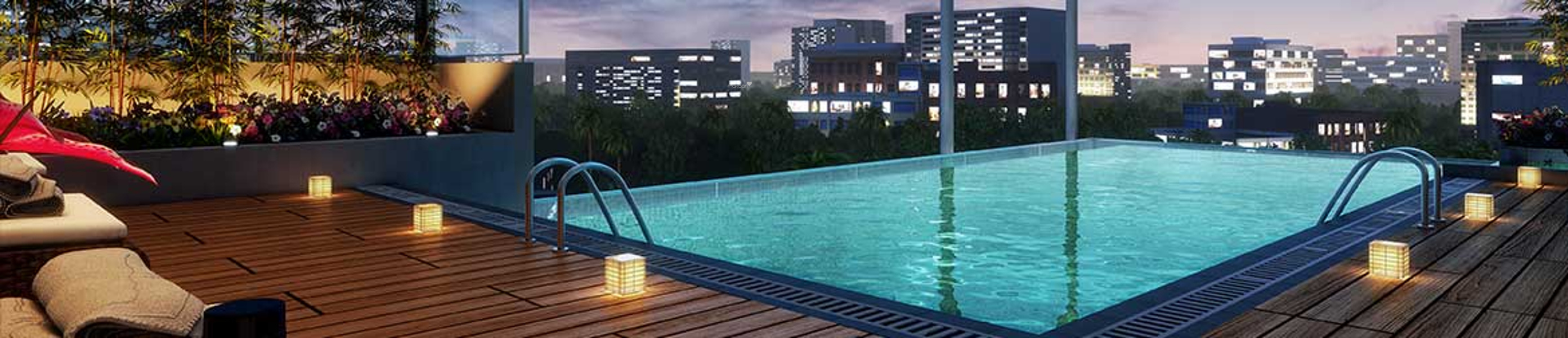 1050 sq ft 2BHK 2BHK+3T (1,050 sq ft) Property By Shreedham Consultancy In Lake Homes, Powai