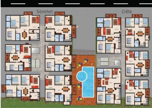Jayanth Santis Cluster Plan