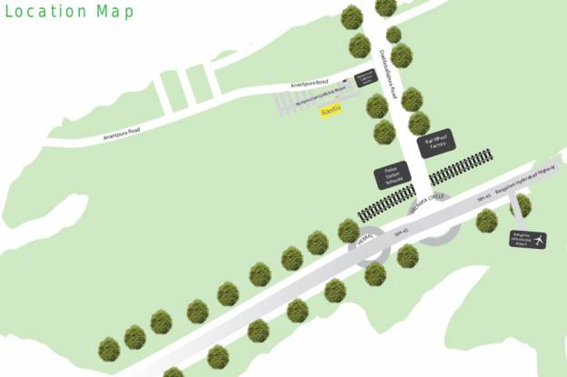 Jayanth Santis Location Plan