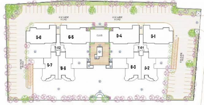 Tarang Orchids Layout Plan