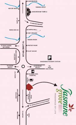 Savfab Jasmine Grove Location Plan