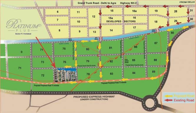 KLJ Platinum Plus Location Plan
