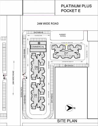 KLJ Platinum Plus Site Plan