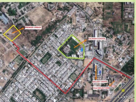Maxworth Premier Urban Location Plan