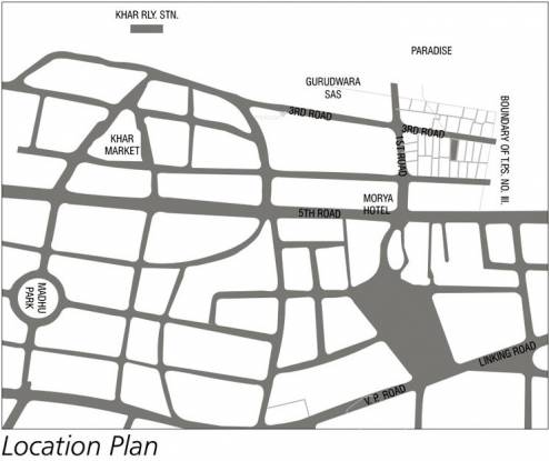 Lokhandwala Paradise Location Plan