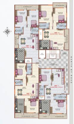 Nishitas Blossoms Heights Cluster Plan