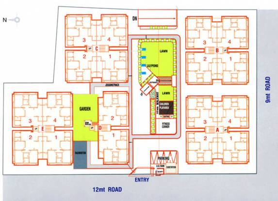 Deep Indraprasth 7 Site Plan