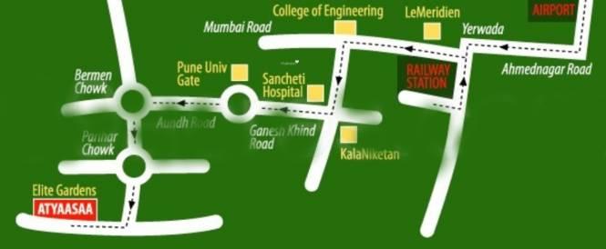 DNV Elite Gardens Location Plan