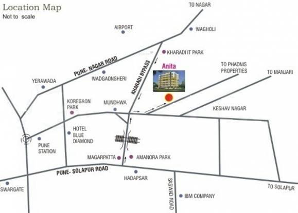 NBM Anita Location Plan