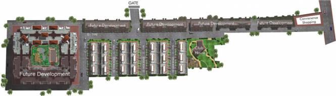 G K Daffodils Housing Society Layout Plan