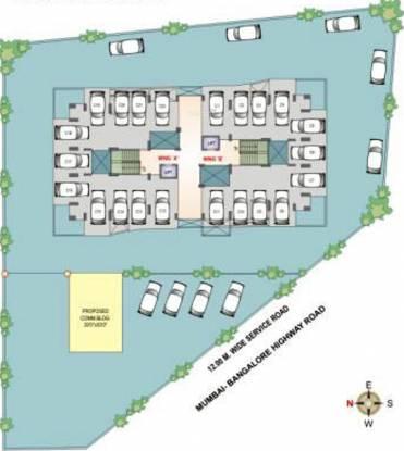 Krishnaleela Laxmi Ganga Heights Cluster Plan