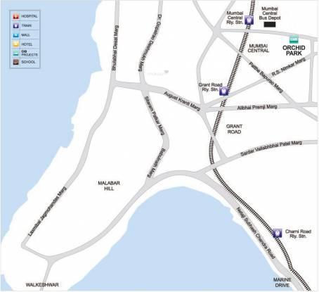 DB Orchid Park Location Plan