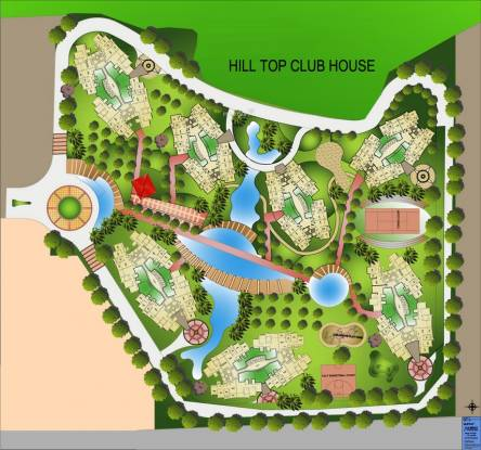 DB Orchid Hills Layout Plan