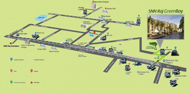 SNN Raj Greenbay Location Plan